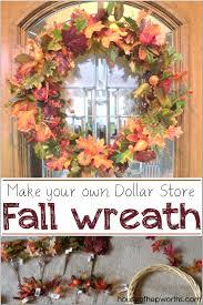 dollar fall wreath