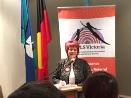 """Our Watch on Twitter: """"Aunty Georgina Nicholson, Wurundjeri Elder delivers  Welcome to Country at @FVPLSVictoria morning tea #NAIDOCWeek2016… """""""