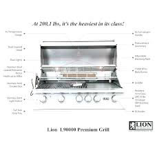 built in grill review outdoor gourmet reviews gas tailgater