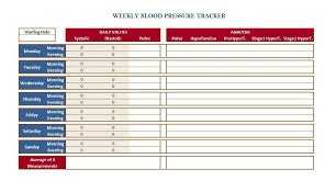 blood pressure and weight log 30 printable blood pressure log templates template lab