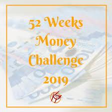 Kuripot Pinay 52 Weeks Money Challenge 2019
