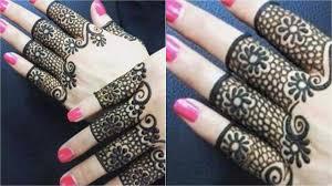 Beautiful Henna Designs For Fingers New Beautiful Diy Fingers Mehndi Design Classic Henna