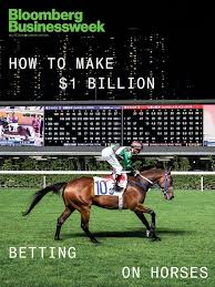 Wooden Horse Race Game Pattern Delectable The Gambler Who Cracked The HorseRacing Code Bloomberg