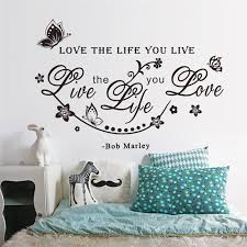 Wall Sticker Quotes Simple Live Life Love Wall Sticker Quotes Wall Decals Vinyl Decal Living