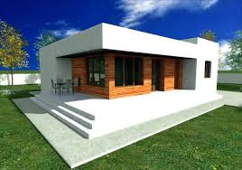small modern house plans with garage small modern house small flat roof house plans fresh small