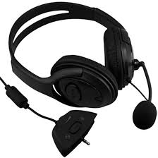Marsnaska new hot sale protable wired gaming chat dual headset headphone microphone for xbox 360