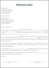 Formal Reference Template From Employer Tenant Job
