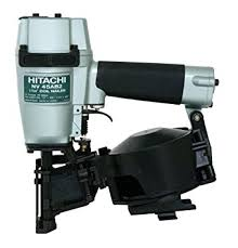 hitachi roofing nailer. hitachi nv45ab2 7/8-inch to 1-3/4-inch coil roofing nailer amazon.com