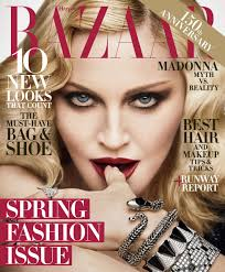 Madonna in Gucci on the February 2017 Cover of Harper s Bazaar.