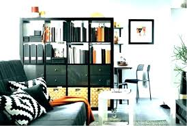 black narrow bookcase small