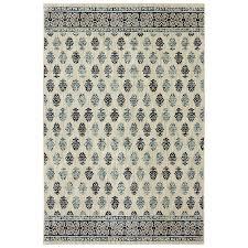 allen roth kincora beige indoor area rug common 8 x 10 actual