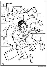 Small Picture Superman Coloring Pages Printable 22