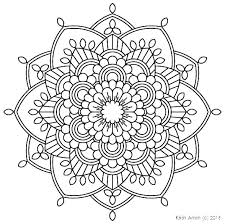 Mandala Coloring Pages For Adults Trustbanksurinamecom