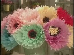 Martha Stewart Paper Flower How To Make Large Crepe Paper Flowers Crepe Paper Flowers Crepe