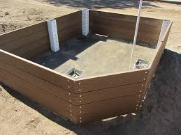 building a garden bed. Raised Planter Ready To Be Filled With Soil. Building A Garden Bed