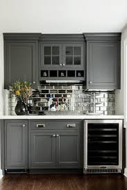 Painted Wood Kitchen Cabinets Kitchen Design Laminate Wooden Floor Gray Traditional Painted