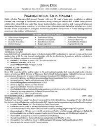 Cool Sample Resume Pharmaceutical Sales About Sample Awesome