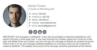Email Signature How To Design Outstanding Corporate Email Signature
