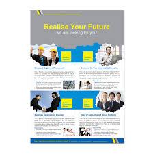 Recruitment Brochure Template Recruitment Agency Flyer Template