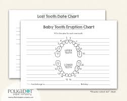 73 Exact Baby Tooth Chart Letters