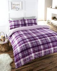 check duvet cover plum check duvet set soft flannelette quilt cover bed flannelette bed sheets buffalo check duvet cover