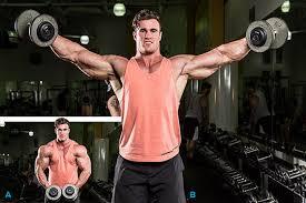 Image result for bodybuilder side delt raises