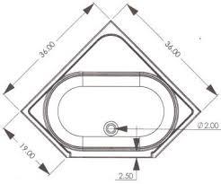 corner bathtub and shower dimensions. r \u0026 g mobile home supply- 36\ corner bathtub and shower dimensions t