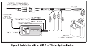 msd 9997 streetfire ignition kit 87 95 gm pickup suv 454 msd29774 at Msd Wiring Harness