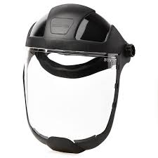 Sellstrom S32210 Standard Face Shield With Ratcheting Headgear Bcf