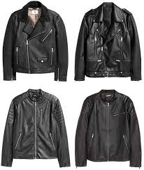 the best h m leather jackets