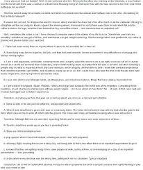Sample Essay About Myself Pdf Meltfm Co