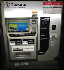 Mbta Fare Vending Machine Interesting UX Spot MBTA Ticket Kiosk Taking You For A Ride