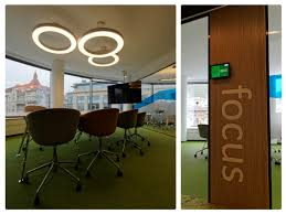 google japan office. Workplaces Are Equipped With Amongst Other Things: Electrically Adjustable Desks, Ergonomic Chairs Imported From Japan, Soundproofing And Sound Deadening Google Japan Office
