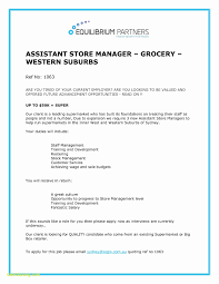 Retail Manager Resume Examples Elegant Resume For Grocery Store Free