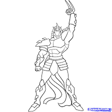 Ninja Turtles Coloring Pages How To
