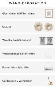 Wanddekoration Poster Rahmen Und Wandtafeln