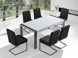 High Gloss Dining Table Stainless Steel Dining Table With High Gloss Top Arctic I