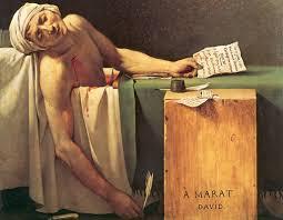 the of marat jacques louis david 1793