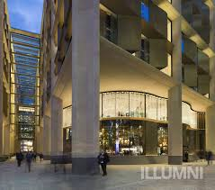 Bloomberg Building Lights Lighting For Bloombergs European Headquarters Honored With