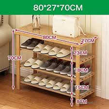 wood storage shoe rack bamboo entryway shelf change the shoes stool stand shelves stackable bedroom
