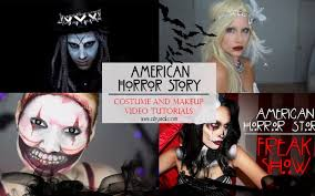 20 american horror story costumes makeup tutorials to try this