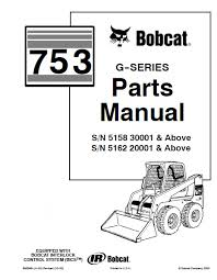 bobcat 753 g series skid steer loader parts manual pdf, spare Bobcat Loader Parts Diagram spare parts catalog bobcat 753 g series skid steer loader parts manual pdf bobcat skid loader parts diagrams