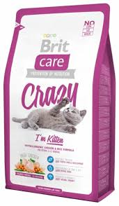 <b>Корм</b> для котят <b>Brit Care</b> Crazy с курицей 2 кг — купить по ...