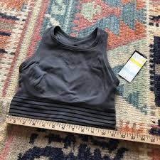 Zella Sports Bra Size Chart Zella Gray Body Fusion Mesh Panel Activewear Sports Bra Size 4 S 20 Off Retail