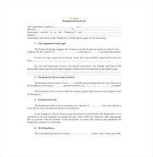 Sample Contract Templates | Nfcnbarroom.com