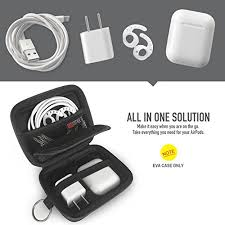 AhaStyle <b>Portable Hard EVA</b> Earbuds Carrrying Case <b>Shockproof</b> ...