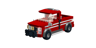 Vehicles : Fire pickup truck