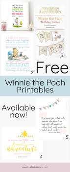 Winnie The Pooh Printable Nap Quote True Bliss Designs