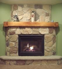 barn beam fireplace mantel