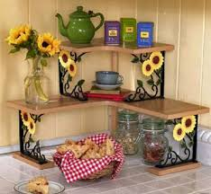 Sunflower Kitchen Decor Theme